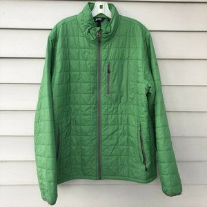 Eastern Mountain Sports Green Quilted Jacket XL